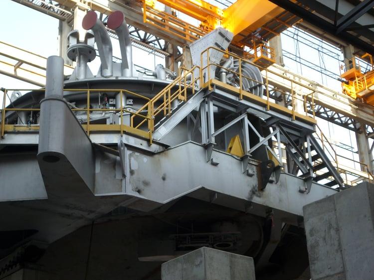 EAF Furnace Assembly 100819