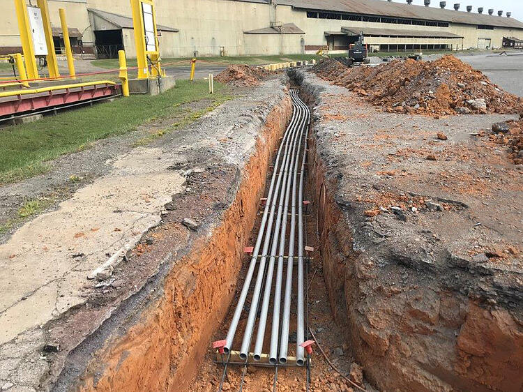 Electrical Duct Bank