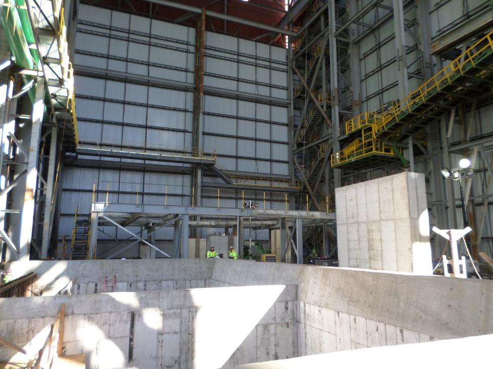 EAF Furnace Reline Platform